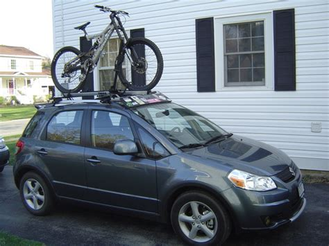 suzuki sx4 bike back rack images