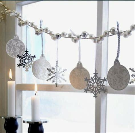 decorazioni natalizie per interni decorazioni natalizie per finestre fai da te