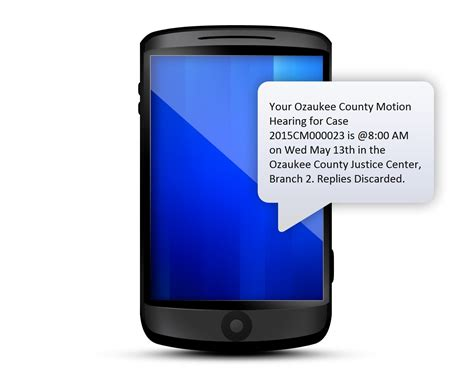 Ozaukee County Court Records Text Messaging Reminder Notices Ozaukee County Wi Official Website