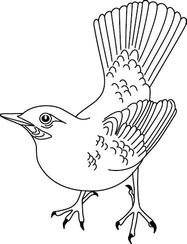 Coloriage 224 Imprimer Un Oiseau Turbulus Jeux Pour Enfants