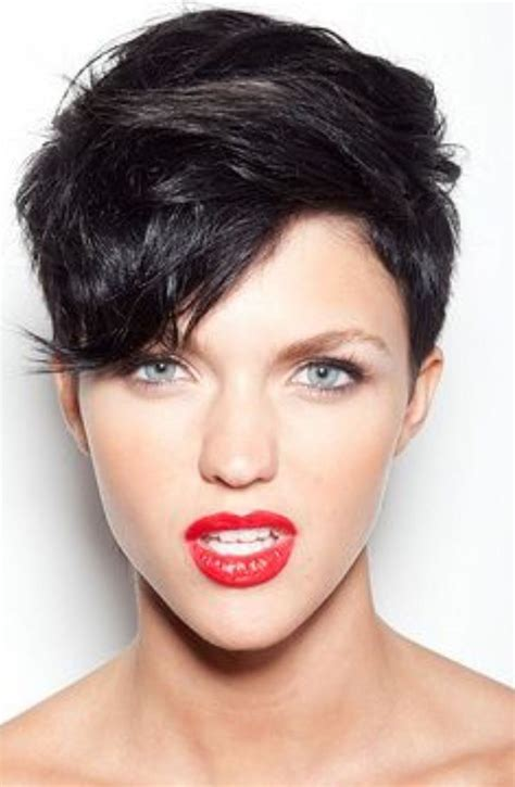 ruby rose cutting hair video 132 best images about hair i will rock on pinterest