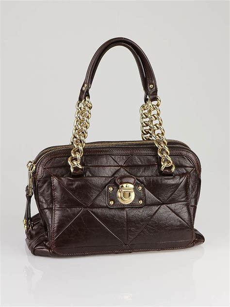 Marc Carol Patchwork Handbag by Marc Brown Patchwork Leather Ines Bag Yoogi S Closet
