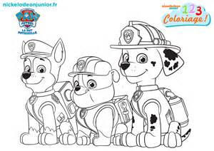 coloriage paw patrol episode 113 nickelodeon junior