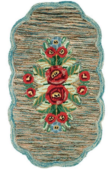 retro style rugs vintage style hooked rugs for your 1930s or 1940s home retro renovation