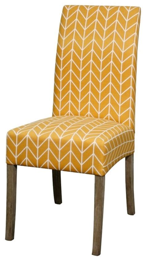 Yellow Fabric Dining Chairs Valencia Fabric Chair W Mystique Gray Legs Wheat Yellow Contemporary Dining Chairs By Sohomod