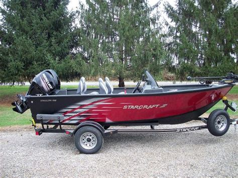 used aluminum bass boats for sale in ohio used starcraft aluminum fish boats for sale boats