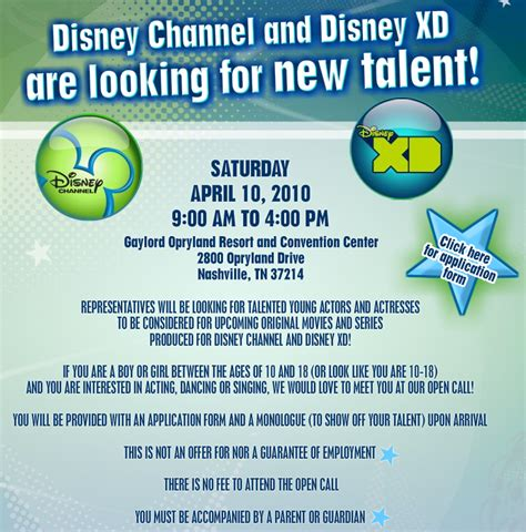 auditions 2015 disney channel in search of three sa presenters disney number for auditions calendar template 2016