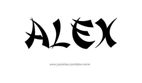 tattoo ideas for the name alex alex name tattoo www pixshark com images galleries