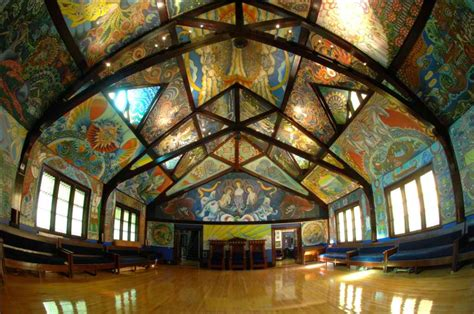 Beautiful Interiors by Masonic Lodge Gets Psychedelic Makeover Eman8