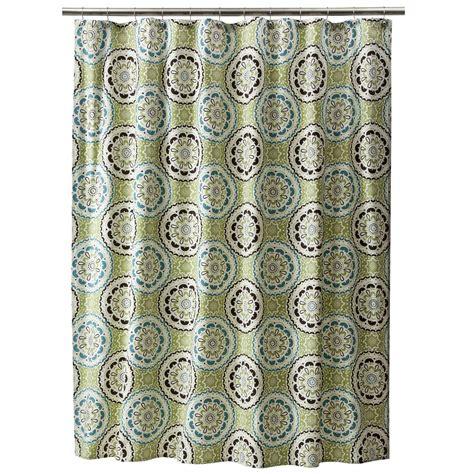 medallion shower curtain medallion shower curtain threshold ebay