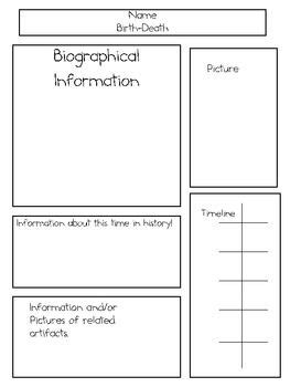 biography posters templates best 25 biography project ideas on pinterest