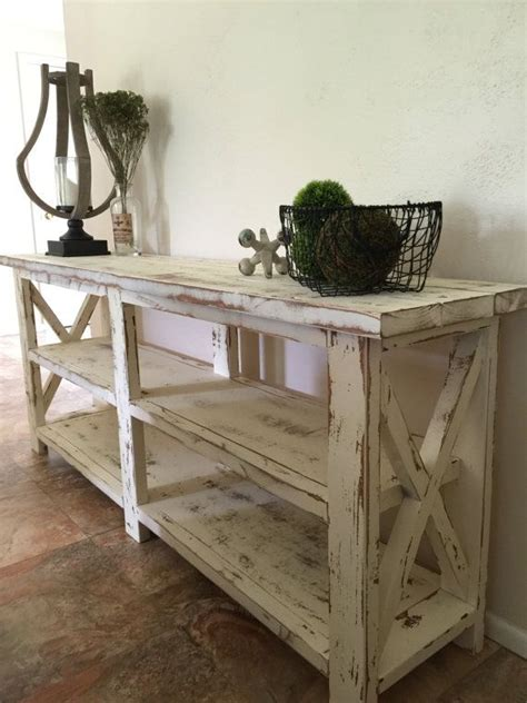 rustic farmhouse entry table sofa table decorations cool sofa table decorating ideas