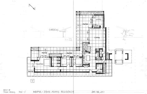 usonian home plans plan houses design frank lloyd wright pesquisa google