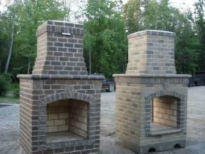 top 25 best outdoor fireplace brick ideas on