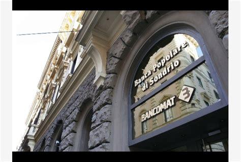 Banca Pop Di Sondrio by Pop Sondrio Utile Netto A 100 Mln 2 5 Tiscali Notizie
