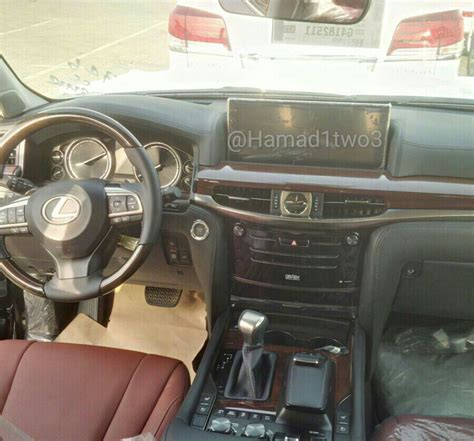 lexus car 2016 interior 2016 lexus lx 570 facelift spied in the middle east with