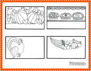 thanksgiving coloring pages place cards or thankful cards