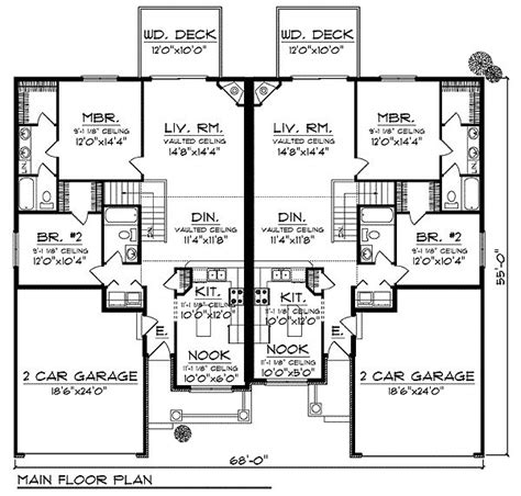 layout design for duplex house 1000 images about house plans on pinterest craftsman