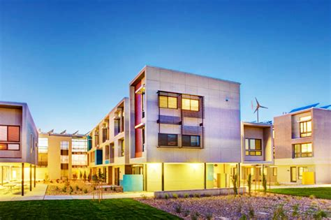 senior housing design paisano green community is the first net zero senior housing project in the us