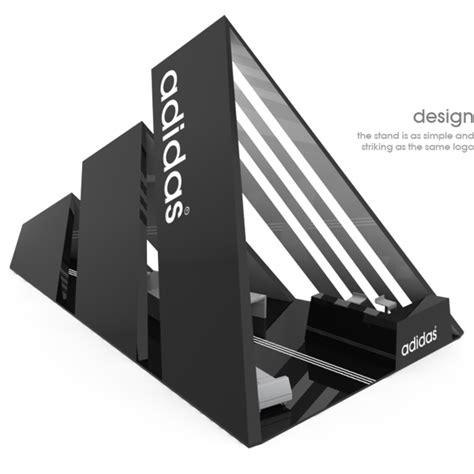 design booth inc adidas stand by scarpia via behance studio displays