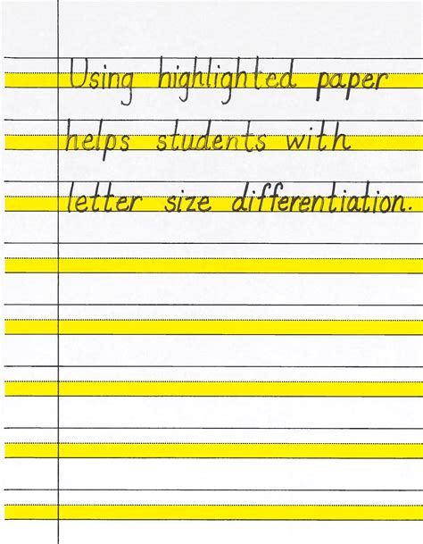 writing paper sizes highlight paper writing workshop