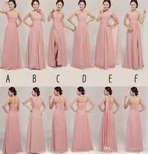 bridesmaid dress patterns chiffon amore wedding dresses