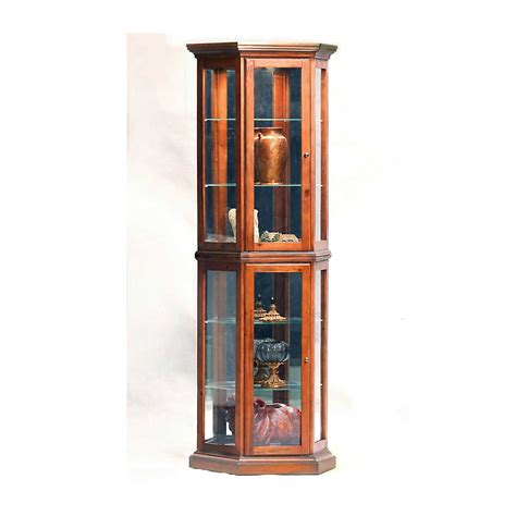 All Glass Curio Cabinet by Glass Curio Cabinets For Luxury Decoration