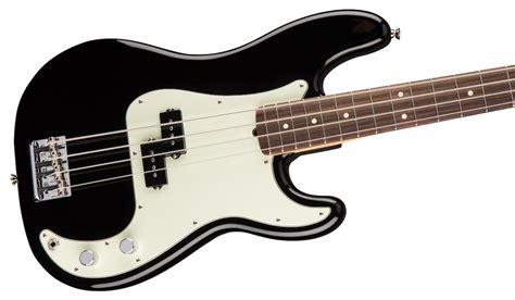 Bass Black fender american professional precision bass black rosewood