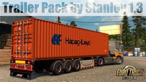 ets trailer pack  stanley  youtube