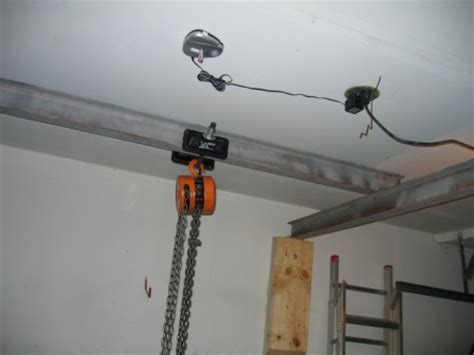 How To Install A Hoist In Garage by You Can See The Parking Laser