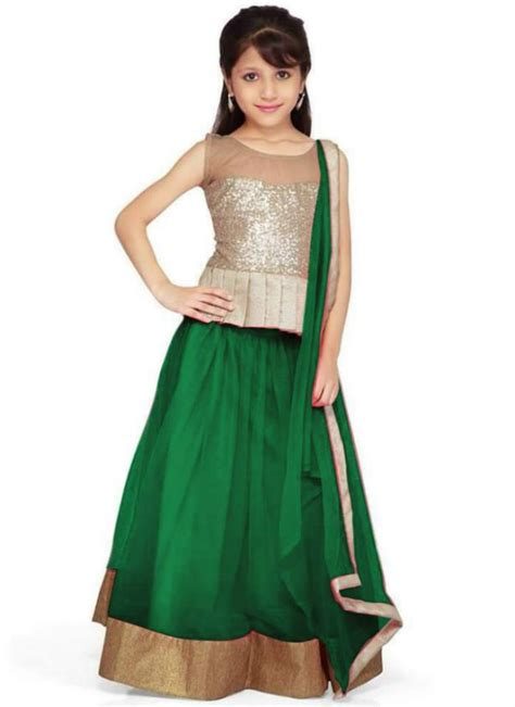 kids dress desing fashion style kids child baby girls wear lehenga choli