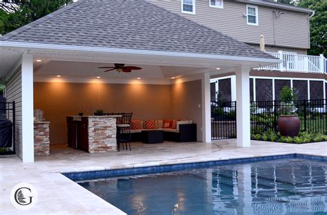outdoor pool rooms pools pool houses greenroots landscaping kennett