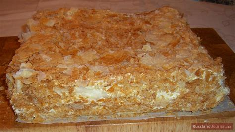russische kuchen und torten rezepte torte napoleon russlandjournal de