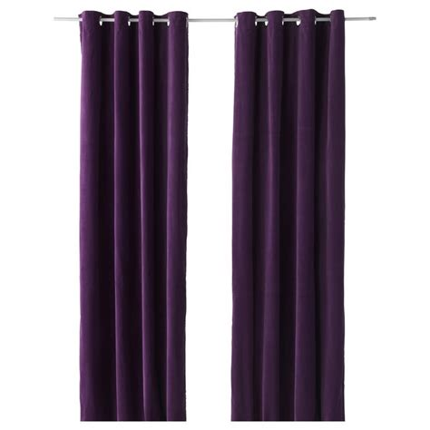 purple curtains ikea 17 best images about living room on pinterest grommet