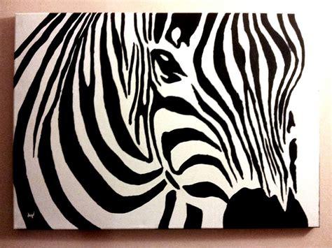 acrylic painting zebra zebra canvas acrylic painting by patrissaart on deviantart