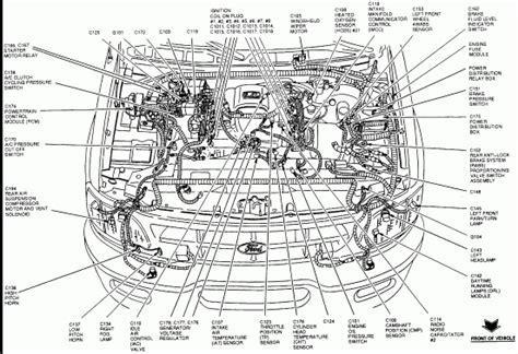 4 6 ford engine diagram ford f150 4 6 engine diagram automotive parts diagram images