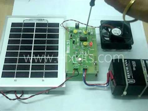 Panel Surya Mini Solar Panel Charge Controller To Protect Battery From