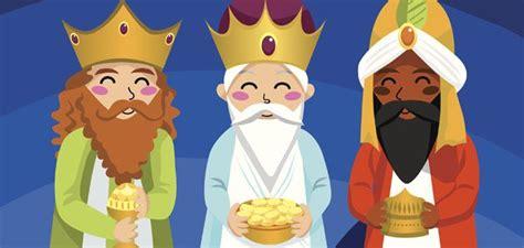 imagenes de reyes magos caricatura sus majestades los reyes magos del oriente