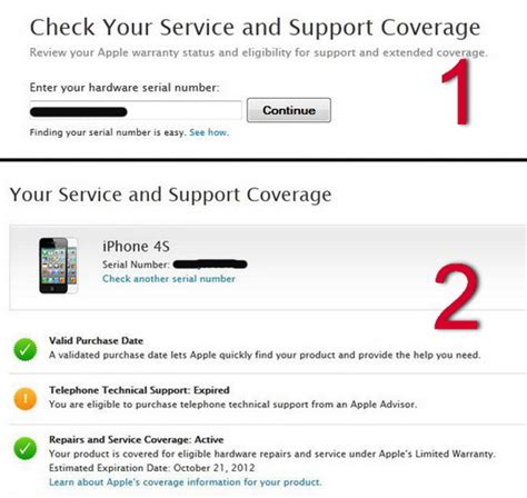 how to check iphone warranty and eligibility for technical support