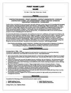 contract administrator resume template premium resume