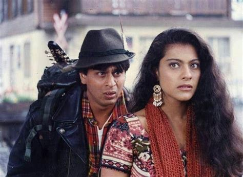 biography of movie ddlj dilwale ddlj baazigar shah rukh and kajol through the