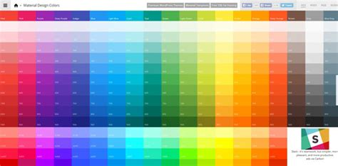 best material color combination flat colors flat ui