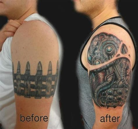 tattoo coverups 15 exles of tattoos being made awesome with cover ups