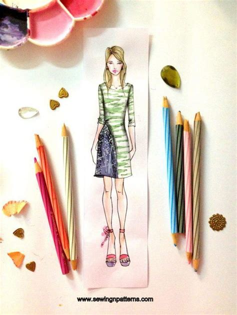 fashion designing templates free how to draw fashion sketches with free fashion design