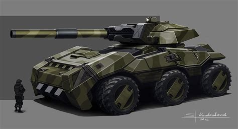 future military vehicles mwo concept art sergey kondratovich on artstation at http