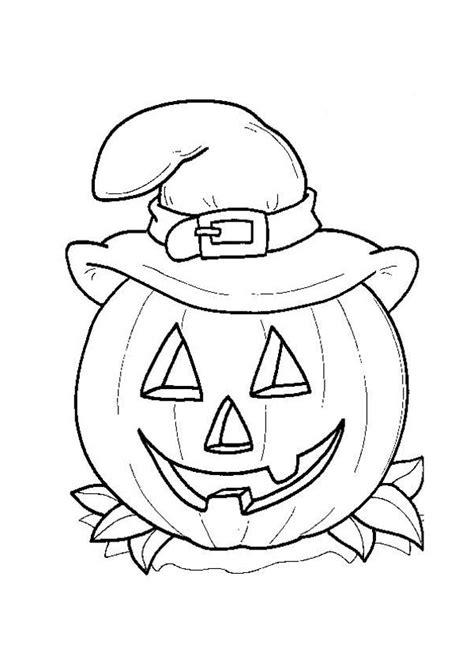 halloween coloring pages of witches halloween witch hat coloring pages festival collections