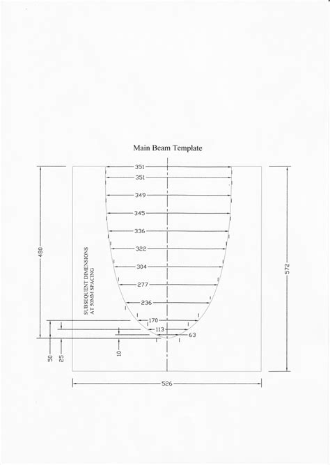 mosquito catamaran measurement templates