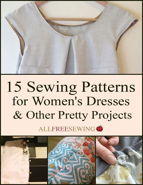 pattern making ebooks 15 sewing patterns for women s dresses free ebook sewing