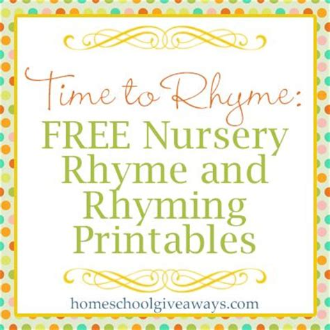 printable nursery rhymes pinterest the world s catalog of ideas