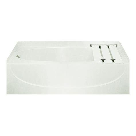 Kona Bathtub by Bootz Industries Kona 4 1 2 Ft Left Drain Soaking